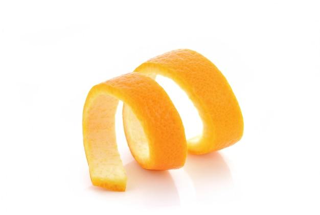Torsion d'orange fraîche Photo Premium