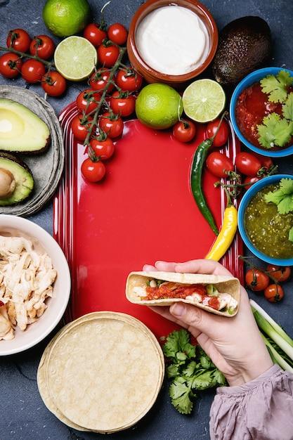 Tortillas faites maison Photo Premium