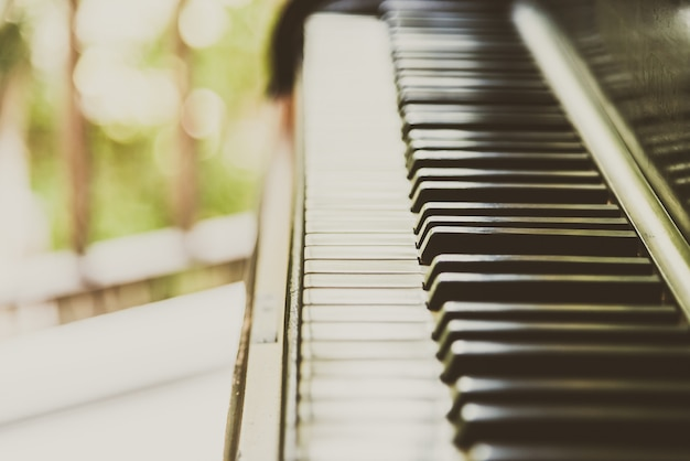 Touche De Piano Photo gratuit