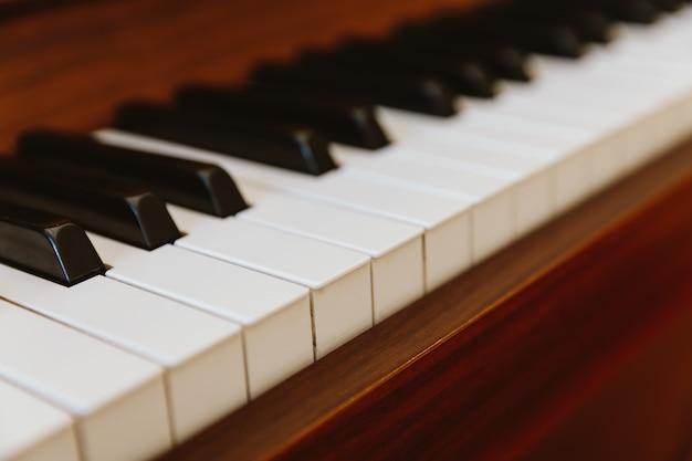 Touches de piano Photo Premium