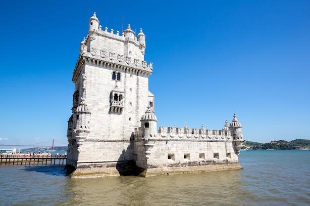 Tour de belem lisbonne, portugal Photo Premium