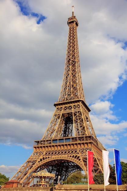 Tour Eiffel à Paris, France Photo Premium