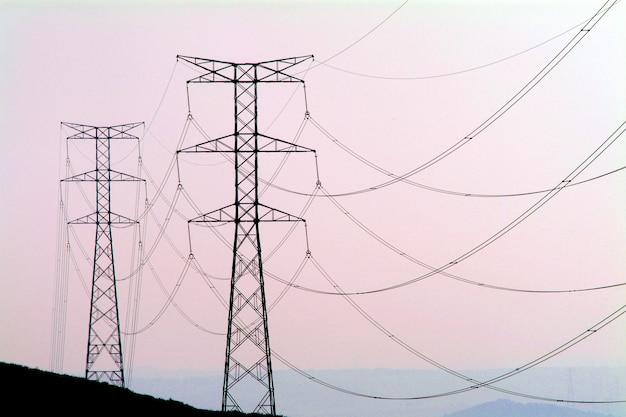 Tour de l'électricité Photo gratuit