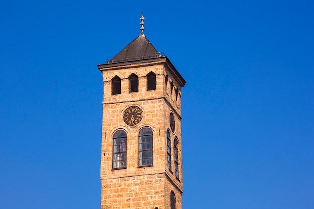 Tour de l'horloge, sarajevo Photo Premium