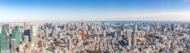 Tour de tokyo, tokyo japon Photo Premium