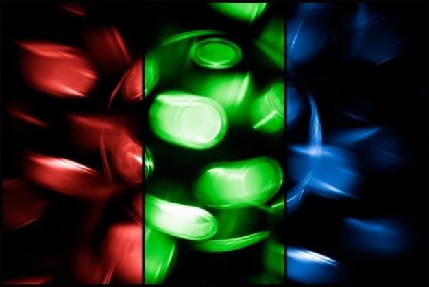 Tourner discothèque lampe rgb Photo gratuit