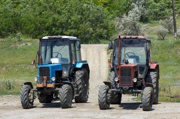 Tracteurs à deux roues Photo Premium