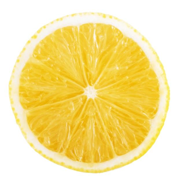 Tranche De Citron Isolé Photo gratuit