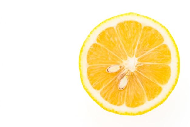 Tranche de citron Photo gratuit