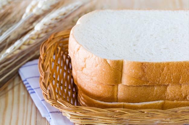 Tranche de pain Photo Premium