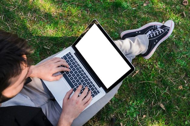 Travailler à l'extérieur Photo gratuit