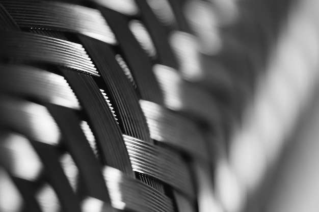 Tressage de fil métallique Photo Premium