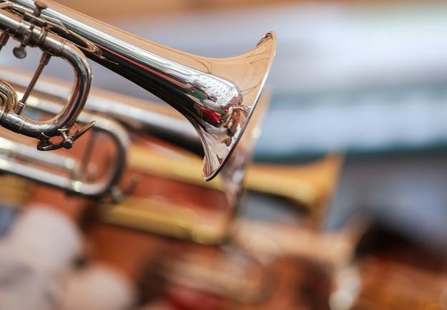 Trompettes dans la rue Photo Premium