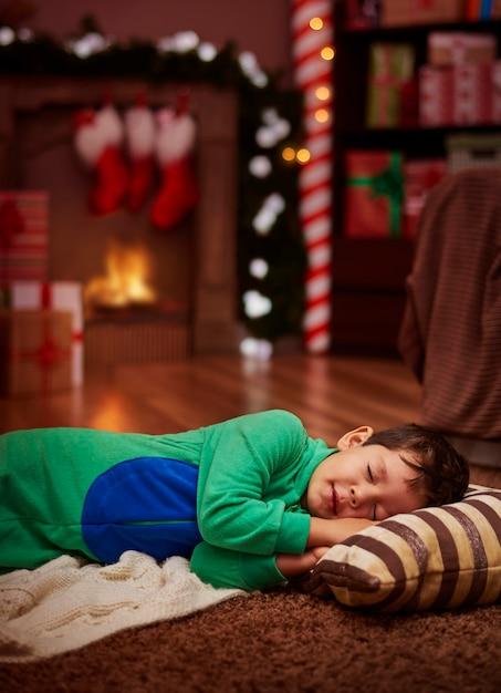 Trop Tard Pour Attendre Le Père Noël Photo gratuit