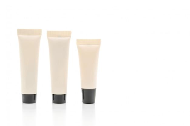 Tube cosmétique vide de crème ou de gel Photo Premium