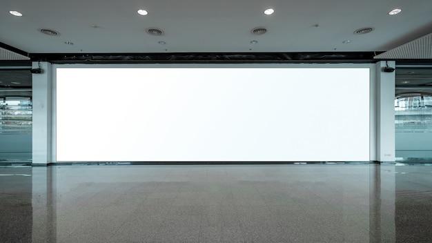 Unité de base en tissu pop up fond d'affichage de support pour bannière publicitaire, vide Photo Premium