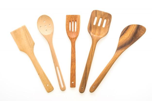 Ustensiles en bois Photo gratuit