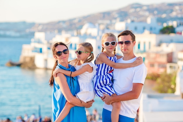 Vacances En Famille Photo Premium