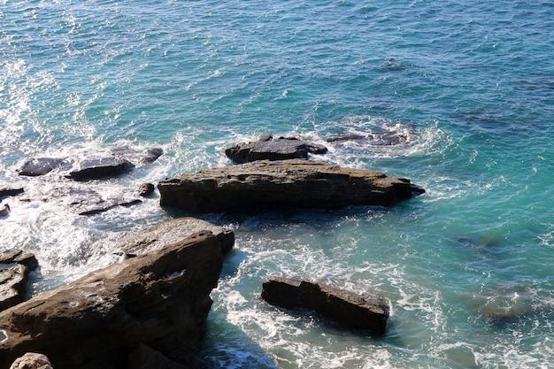 Vague dans la mer Photo gratuit