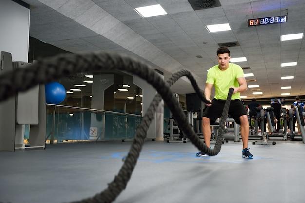 Vagues de remise en forme exercice de la santé du sport Photo gratuit