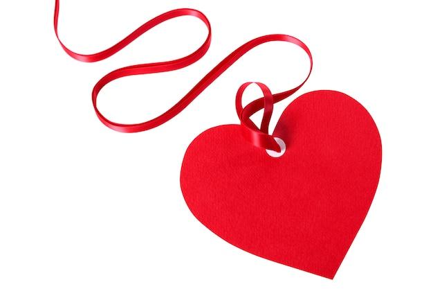 Valentine Card Ou étiquette De Cadeau Photo gratuit