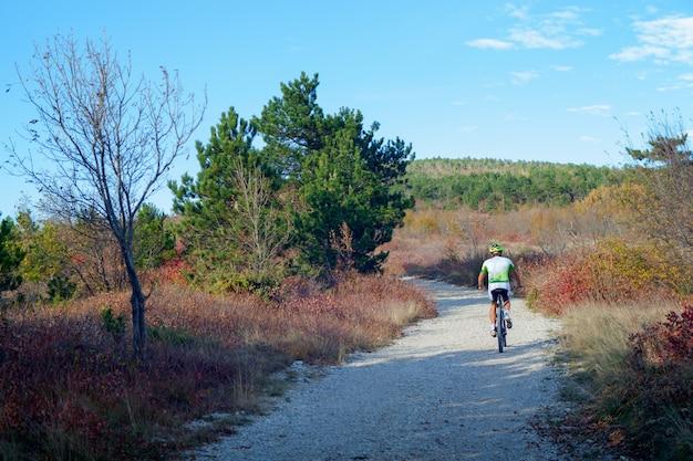 Vélo de montagne Photo Premium