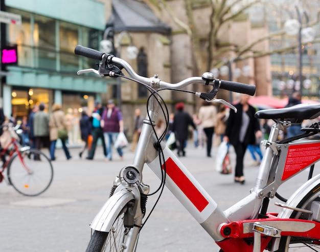 Vélo De Ville Photo Premium