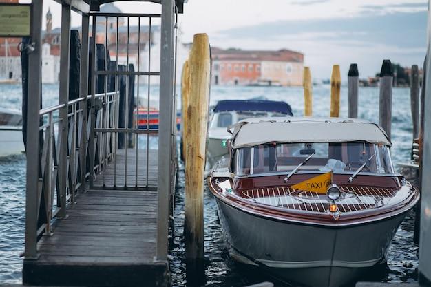 Venise bateau taxi Photo gratuit