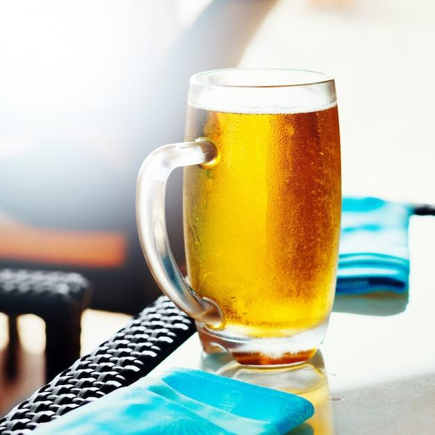 Verre de bière Photo Premium