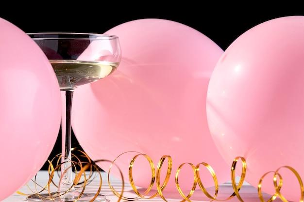 Verre De Champagne Gros Plan Photo gratuit
