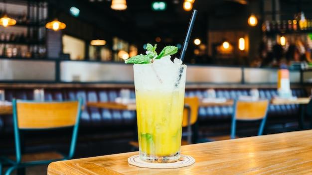 Verre à Cocktail De Jus Glacé Photo gratuit