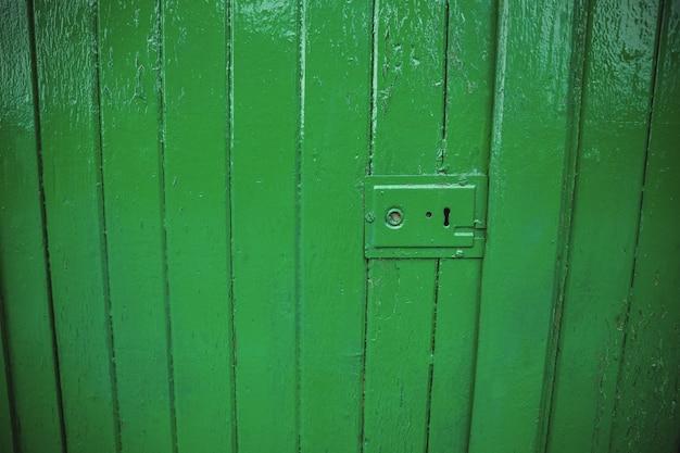 Vert Serrure De Porte Ancienne Photo gratuit