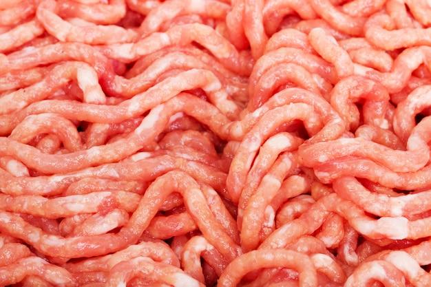 Viande de porc hachée Photo Premium