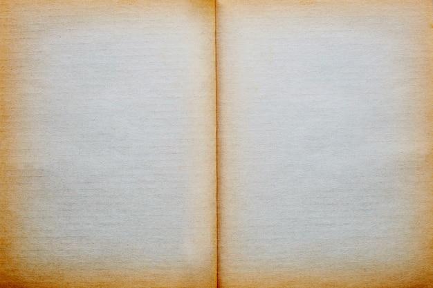 Vide vieux fond de papier vintage page page. Photo Premium
