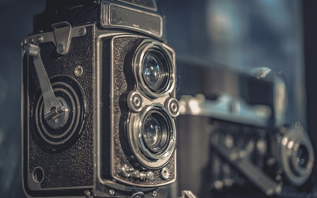 Vieille caméra de film Photo Premium