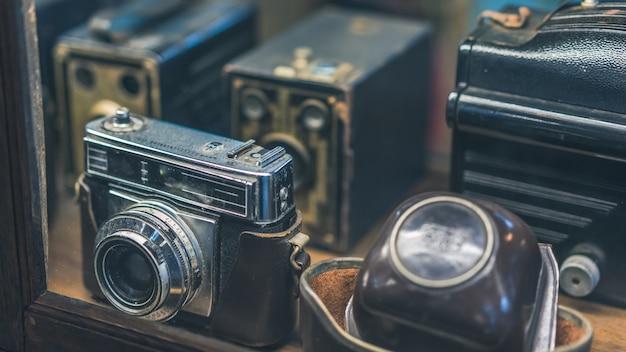 Vieille caméra Photo Premium