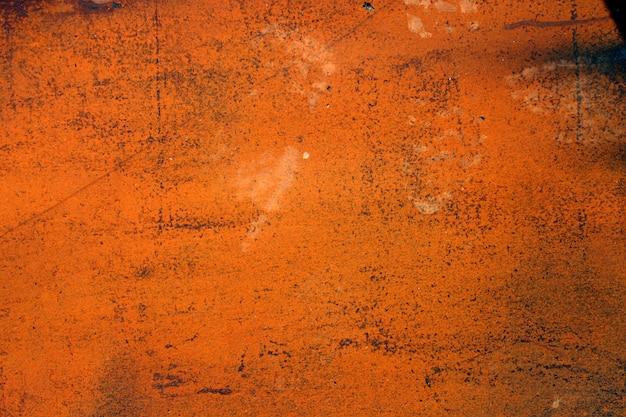 Vieille surface métallique rouillée Photo Premium
