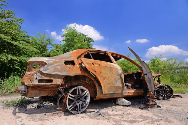 Vieille voiture Photo Premium