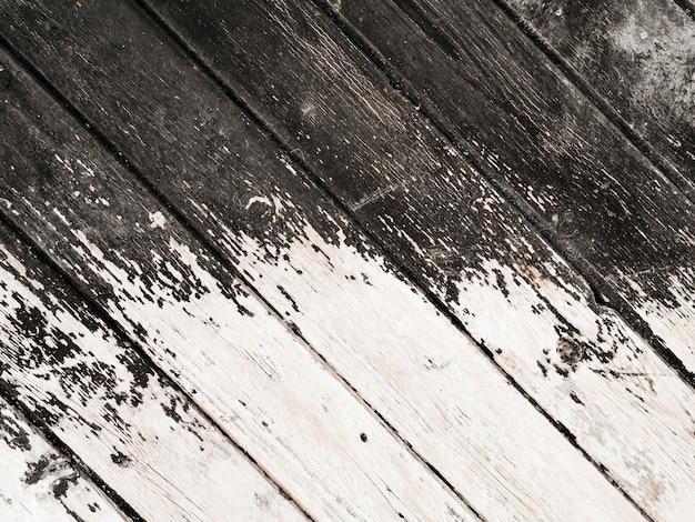 Vieilli fond de planche de bois Photo gratuit