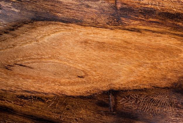 , Vieux Bois Texturé, Orme, Copyspace Vue De Dessus Photo Premium