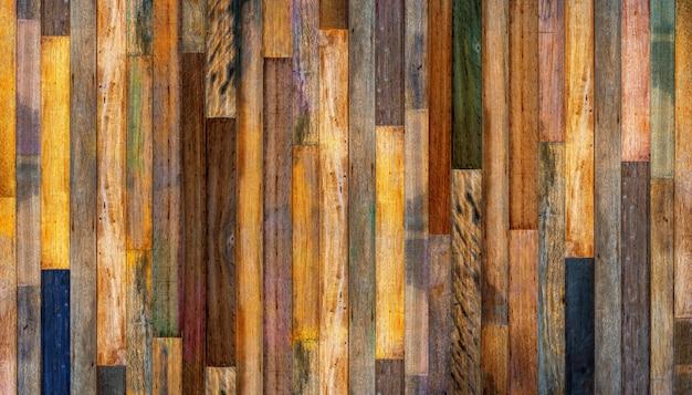 Vieux bois vintage texturé Photo Premium