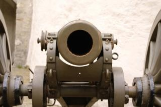 Un vieux canon, des armes à feu Photo gratuit