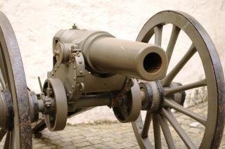 Un vieux canon, croisade Photo gratuit