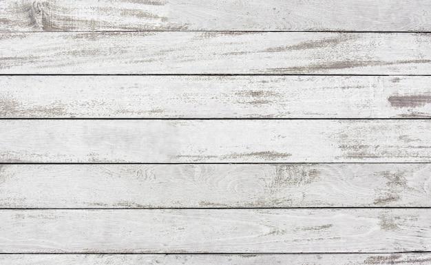 Vieux Decoller La Planche De Bois Peinture Blanche Fond De Texture De Surface Photo Premium