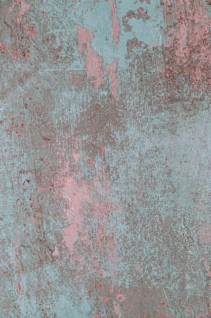 Vieux fond de béton bleu fissuré Photo gratuit