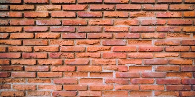 Vieux Fond Blanc De Mur De Brique Rouge Photo Premium