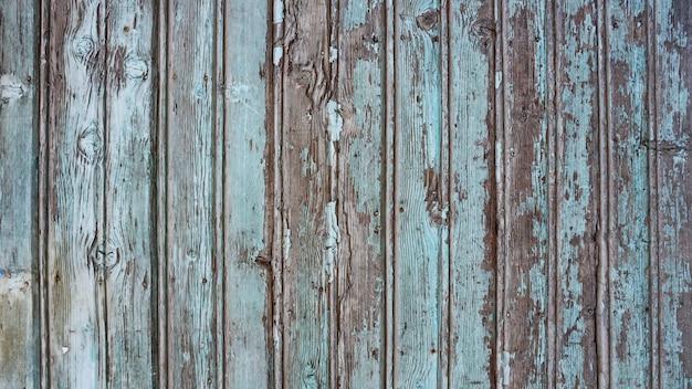 Vieux Fond En Bois Bleu De L'eau Photo Premium