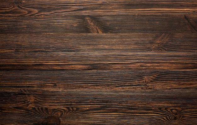Vieux fond de bois brun vintage Photo gratuit