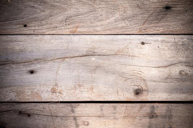 Vieux fond en bois texturé Photo Premium