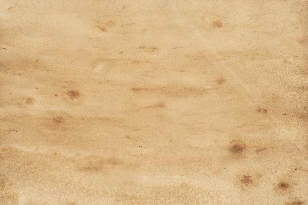 Vieux Fond Grunge De Papier Brun. Texture De Couleur Café Liquide Abstraite. Photo Premium